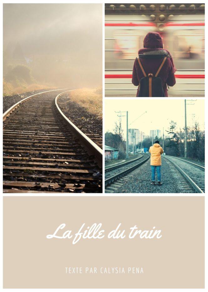 photo illustration la fille du train